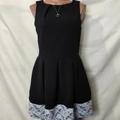 Плотненькое платье с кружевом,Closer,L/xl