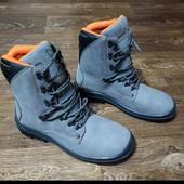 Классные новые  кожаные ботинки honeywell. Размер 46