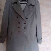 шикарное пальто,новое состояние,рр 16(44)