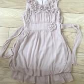 Платье шифоновое на 6-7 лет