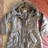 На весну! Куртка серебристая Wojcik девочке 11-12 лет
