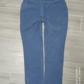 Суперские Голубые вельветки размер 46 замеры на фото