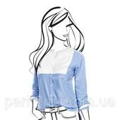 Женственная, стильная блуза-рубашка от немецкого бренда TCM Tchibo , размер 42 евро=48