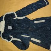 Комфортная удлиненная куртка Tafika (Lizabeta) 9-11 лет