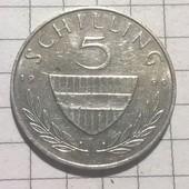 Монета Австрии 5 шиллингов 1990