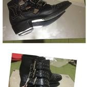 #96 Крутяцкие/ Трендовые ботинки! Кожа!