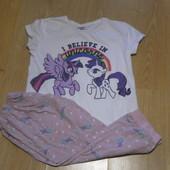 Пижама х\б my little Pony отличном состоянии