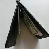 Унисекс !Купюрница-зажим.черный.Удобно и практично