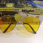 Поляризационные очки для водителей Night View Glasses Нюанс