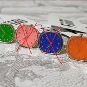 Кольцо Часики Fini jeweler США (лот -1шт, цвет на выбор)