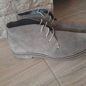 Полностью натуральная замша ботинки OVS Italy