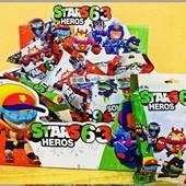 Супер подарунок ! Герої Brawl stars , герой 10см , +3 карточки найновіша колекція