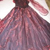 Праздничное платье с корсетом