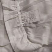 Белая батистовая гардина Ikea 140*260