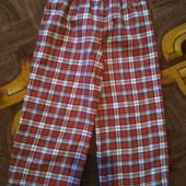 Классные пижамные штаны байковые в отличном состоянии на 3-4 года.