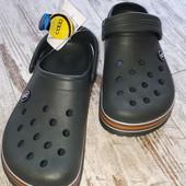 Кроксы сабо шлепки Даго стиль легкие,удобные 41 26.5,42 27,42/43 27.5 см на выбор