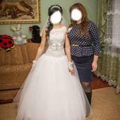 Свадебное платье. Не венчаное. Можно наложенным платежом ( по предоплате 100грн)