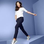 ☘ Женские темно-синие спортивные штаны, Tchibo(Германия), размер наш: 42/44(36/38 евро)