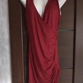 Фирменное новое трикотажное платье из вискозы р.12-16