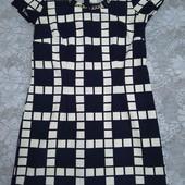 платье клетка 48-50 размер