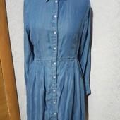 Джинсовое платье-рубашка р 44-48 esmara