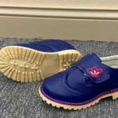 Демисезонные туфли.Фирма Канарейка. туфельки для девочек.