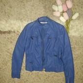 Курточка кожзам XL отличное состояние