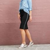 ФФ16.Стильная трикотажная юбка esmara германия,