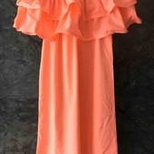 Платье с воланами!