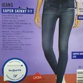 ФФ33.стильные джинсы syper Skinny Fit , от Esmara.