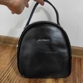 Фирменный кожаный рюкзак-сумочка от Alex Rai
