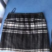 Тёплая меховая юбочка на подкладке( New look), р.S