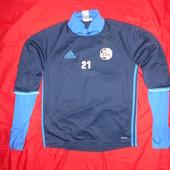 Adidas футбольна термо-футболка.размер М.в хорошем состоянии.Оригинал!
