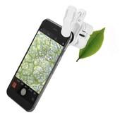 60-кратный цифровой микроскоп для сотового телефона со светодиодной подсветкой