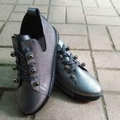 Демиссезоные женские ботиночки весна-осень.