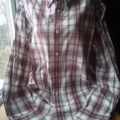 Очень красивая мужская рубашка,состояние отличное,р.16/18(Л/ХЛ,54/56),смотрите замеры