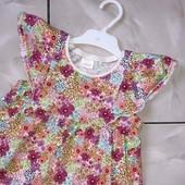 Стоп !❤ Фирменное яркое Коттоновое платье,4-5 лет❤ Много лотов!