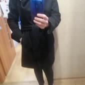 Пальто, 80%шерсть,М,состояние отличное