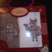 Набор из 2 полотенец в подарочной упаковке ceilin's