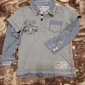 Рубашечка-футболка на мальчика 4 лет Vingino оригинал