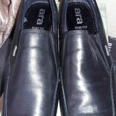 Женские кожаные туфельки Ara.36.5 размер