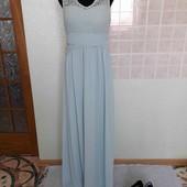 ніжно  бірюзове плаття  vila clothes 42 рр як нове