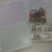 Для мам и деток!Мозаика +в подарок еще 1рабочее полотно.Теперь можно играть в двоём)