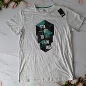Класна чоловіча футболка Livergy, шикарна якість *** розмір L наш, дивіться заміри