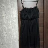 Фирменное красивое платье-сарафан в отличном состоянии р.14-16