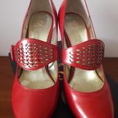 Туфли крассные 36 размер в идеале