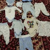 пакет вещей для малыша можно для новорожденного