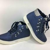 Классные стильные ботинки, ботики деми на весну, кроссовки девочка с 32 по 37 размер 20см-22,5см