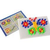 Мозаика с круглыми фишками - 48 элементов
