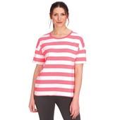 ☘ Лот 1 шт ☘ Жіноча футболка з блок-смужками від Gina Benotti (Німеччина), розмір L 44/46